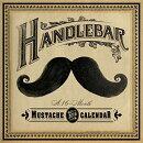 Handlebar Mustache Calendar