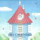 花舞うムーミンハウスカレンダー(2015)