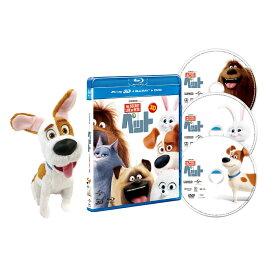 <数量限定生産>ペット 3D+ブルーレイ+DVDセット(3枚組) マックスぬいぐるみ付きスペシャルパック【3D Blu-ray】 [ ルイス・C.K. ]