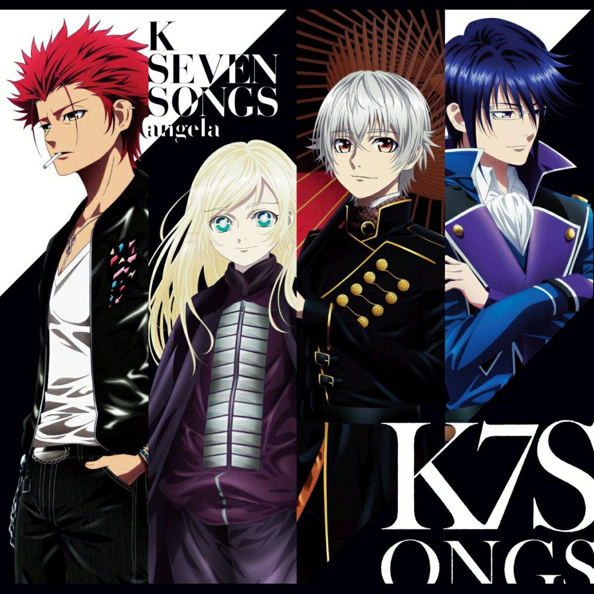 劇場アニメーション「K SEVEN STORIES」ED主題歌集 (CD+Blu-ray) [ angela ]