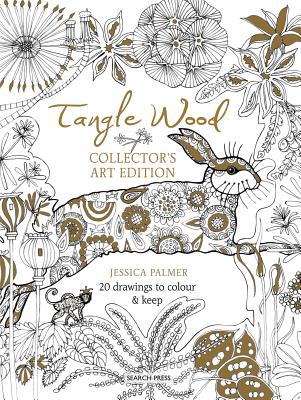 Tangle Wood Collector's Art Edition: 20 Drawings to Colour & Keep TANGLE WOOD COLLECTORS ART /E [ Jessica Palmer ]