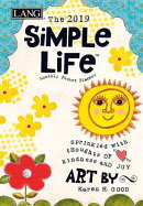 Simple Life 2019 4.5 X 6.5 Monthly Pocket Planner