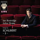 【輸入盤】歌曲集 第3集 イアン・ボストリッジ、ジュリアス・ドレイク(2014年ライヴ)