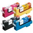 BCI-321/4MP互換インクカートリッジ 4色パック PLE-CB3214P プレジール