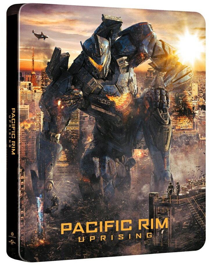 パシフィック・リム:アップライジング スチール・ブック仕様 ブルーレイ+DVDセット【日本限定4000セット】【Blu-ray】 [ ジョン・ボイエガ ]