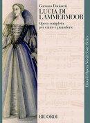 【輸入楽譜】ドニゼッティ, Gaetano: オペラ「ランメルモールのルチア」 (伊語) (紙装)