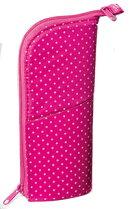 ペンケース ネオクリッツ ピンク(ドット柄)×ピンク(ラメ)