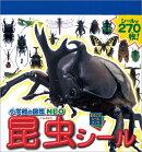 小学館の図鑑NEO昆虫まるごとシールブック