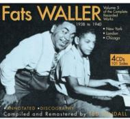 【輸入盤】Vol.5:1938-1940:NewYork,London,Chicago[FatsWaller]