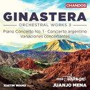 【輸入盤】アルゼンチン風協奏曲、ピアノ協奏曲第1番、協奏的変奏曲 シャイン・ワン、ファンホ・メナ&BBCフィル