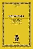【輸入楽譜】ストラヴィンスキー, Igor: 管弦楽組曲「火の鳥」(1919年版): スタディ・スコア