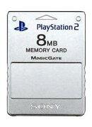 PlayStation 2専用メモリーカード(サテンシルバー)