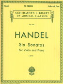 【輸入楽譜】ヘンデル, Georg Friedrich: 6つのソナタ