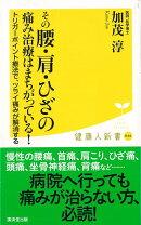 【バーゲン本】その腰・肩・ひざの痛み治療はまちがっている!-健康人新書