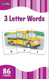 3 Letter Words (Flash Kids Flash Cards) 3 LETTER WORDS (FLASH KIDS FLA (Flash Kids Flash Cards) [ Flash Kids ]