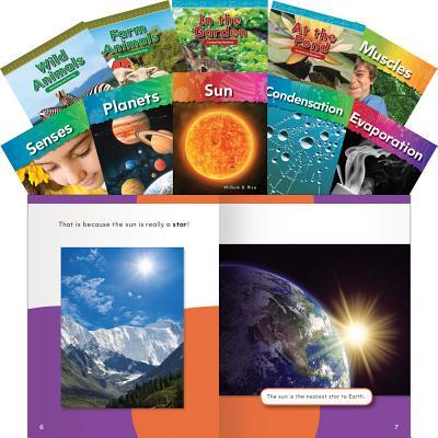Stem Kindergarten 10-Book Set (Stem) STEM KINDERGARTEN 10-BK SET (S (Teacher Created Materials Library) [ Teacher Created Materials ]