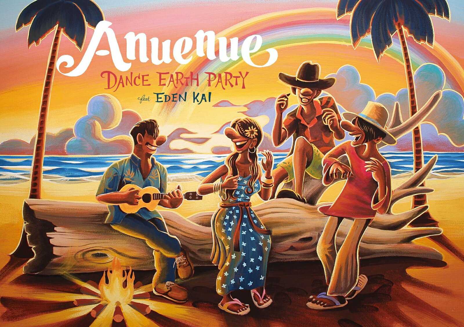 Anuenue (CD+3Blu-ray) [ DANCE EARTH PARTY ]