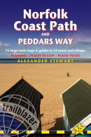 Norfolk Coast Path & Peddars Way: Knettishall Hall to Cromer & Great Yarmouth - Includes 75 Large-Sc