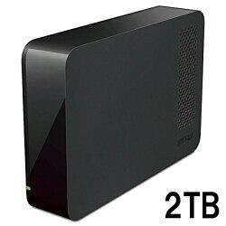 BUFFALO USB3.1(Gen1)/USB3.0用 外付けHDD 2TB ブラック HD-NRLC2.0-B