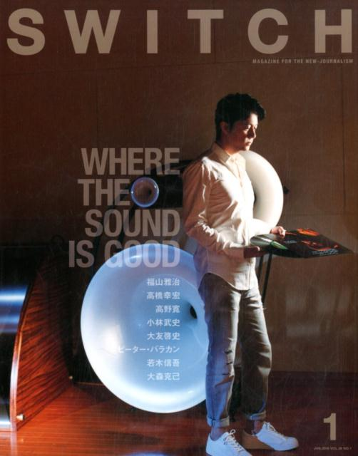 SWITCH(Vol.36 No.1(JAN) WHERE THE SOUND IS GOOD