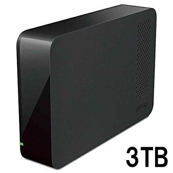 BUFFALO USB3.1(Gen1)/USB3.0用 外付けHDD 3TB ブラック HD-NRLC3.0-B