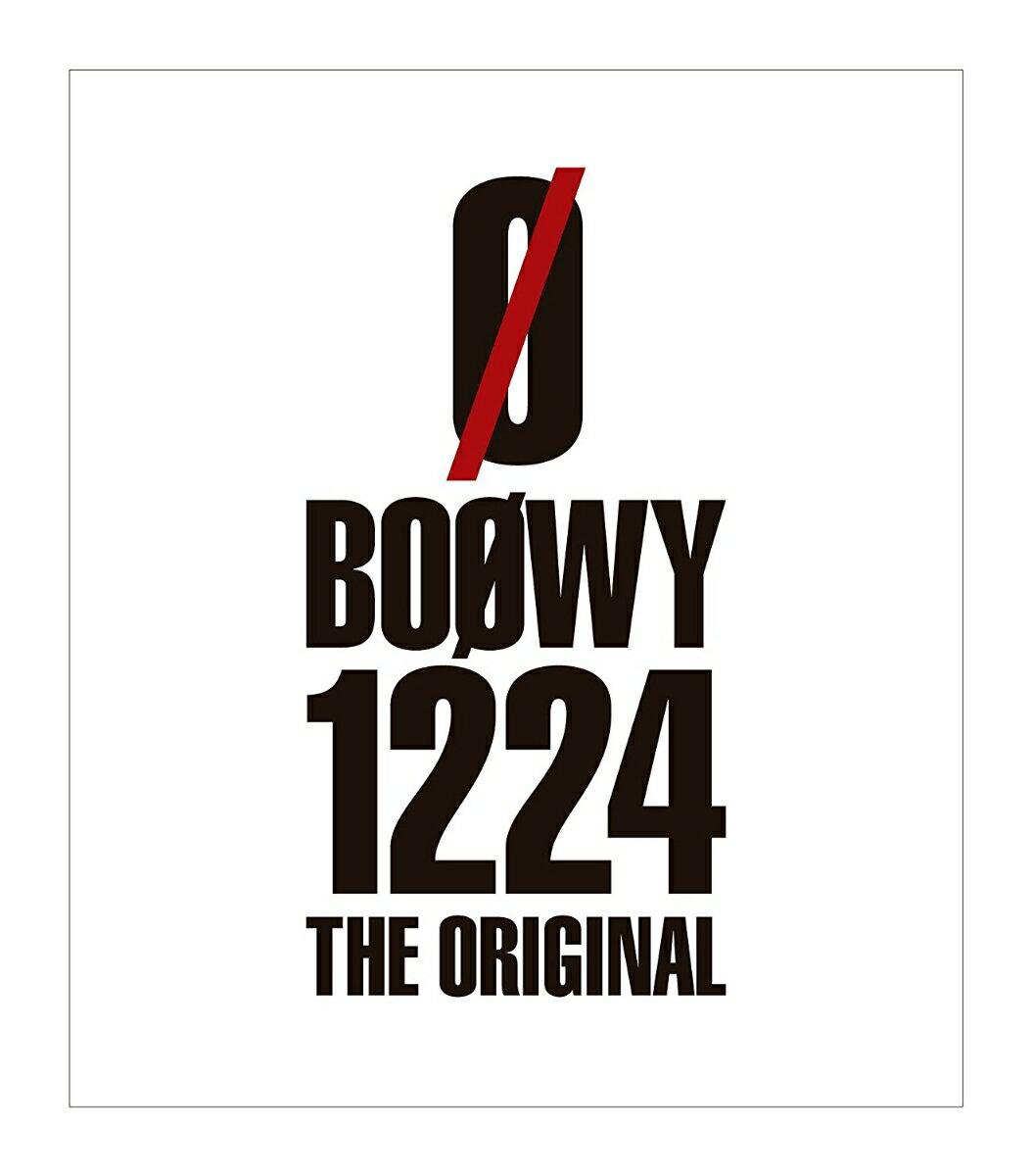 1224 -THE ORIGINAL-【Blu-ray】 [ BOOWY ]