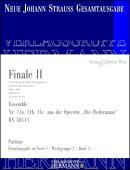 【輸入楽譜】シュトラウス二世, Johann: オペレッタ「こうもり」 より 第2幕のフィナーレ 「ワインの火のとばしりに…