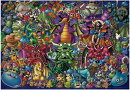 【予約】ドラゴンクエスト35周年 EP4507 ドラゴンクエスト ジグソーパズル 〜モンスター集合編〜 ジグソーパズル