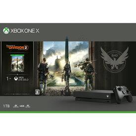 Xbox One X (ディビジョン2 同梱版)