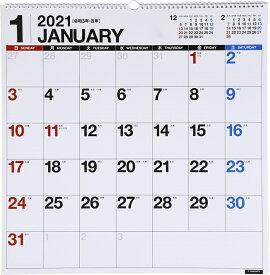 2021年版 1月始まりE31 エコカレンダー壁掛 高橋書店 B2変型サイズ (壁掛)