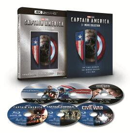 キャプテン・アメリカ:4K UHD 3ムービー・コレクション(数量限定)【4K ULTRA HD】 [ クリス・エヴァンス ]