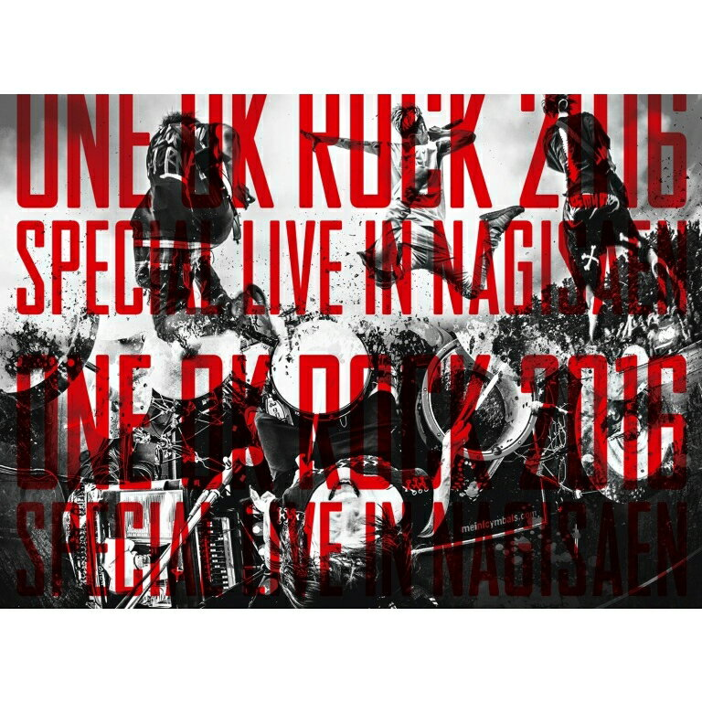 LIVE Blu-ray『ONE OK ROCK 2016 SPECIAL LIVE IN NAGISAEN』【Blu-ray】 [ ONE OK ROCK ]