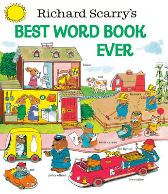 RICHARD SCARRY'S BEST WORD BOOK EVER(H) [ RICHARD SCARRY ]