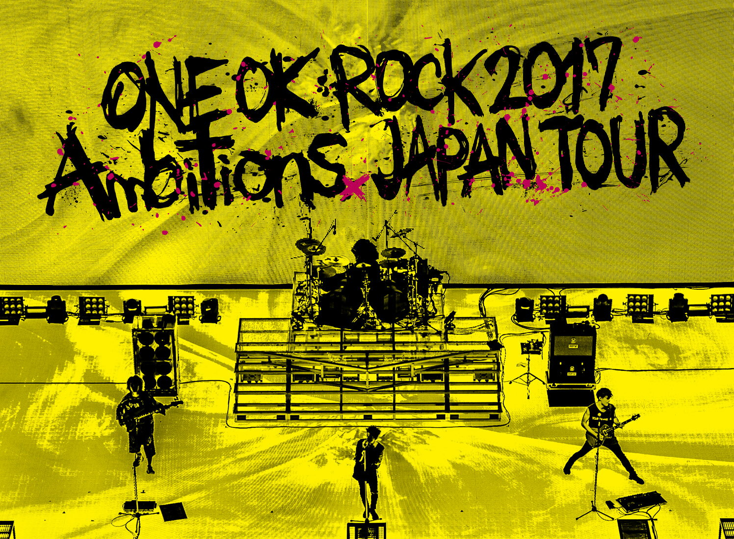 "LIVE Blu-ray「ONE OK ROCK 2017 ""Ambitions"" JAPAN TOUR」【Blu-ray】 [ ONE OK ROCK ]"