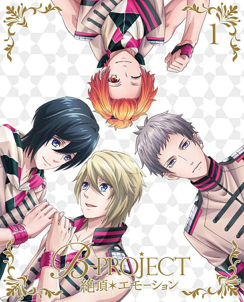 B-PROJECT〜絶頂*エモーション〜 1(完全生産限定版) [ 瀬戸麻沙美 ]