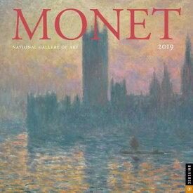 Monet 2019 Wall Calendar CAL 2019-MONET WALL CAL [ National Gallery of Art Washington D. C. ]