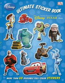 Ultimate Sticker Book: Disney Pixar: More Than 60 Reusable Full-Color Stickers
