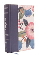 NIV, the Woman's Study Bible, Cloth Over Board, Blue Floral, Full-Color: Receiving God's Truth for B