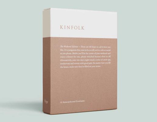 Kinfolk Notecards - The Weekend Edition KINFOLK NOTECARDS - THE WEEKEN [ Various ]