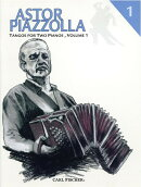 【輸入楽譜】ピアソラ, Astor: 2台のピアノのためのタンゴ 第1巻