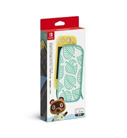 Nintendo Switch Lite キャリングケース あつまれ どうぶつの森エディション ~たぬきアロハ柄~ (画面保護シート付き)