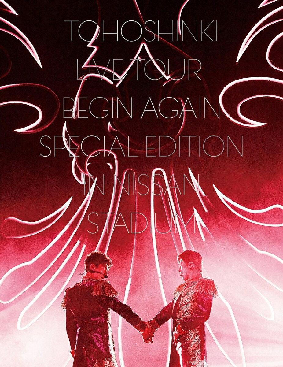 東方神起 LIVE TOUR 〜Begin Again〜 Special Edition in NISSAN STADIUM(初回生産限定盤)(DVD3枚組 スマプラ対応) [ 東方神起 ]
