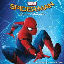 Spider-Man: Homecoming 2018 Wall Calendar