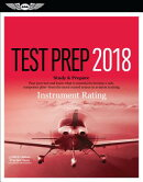 Instrument Rating Test Prep 2018: Study & Prepare: Pass Your Test and Know What Is Essential to Beco