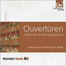 【輸入盤】『ハンブルク・オペラの序曲集』 ベルリン古楽アカデミー