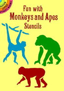 FUN WITH MONKEYS AND APES STENCILS