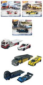 ホットウィール(Hot Wheels) チームトランスポート アソート 【ミニカー4台入り BOX販売】 FLF56-986N