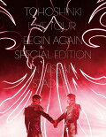 【予約】東方神起 LIVE TOUR 〜Begin Again〜 Special Edition in NISSAN STADIUM(初回生産限定盤)(Blu-ray Disc2枚組 スマプラ対応)【Blu-ray】
