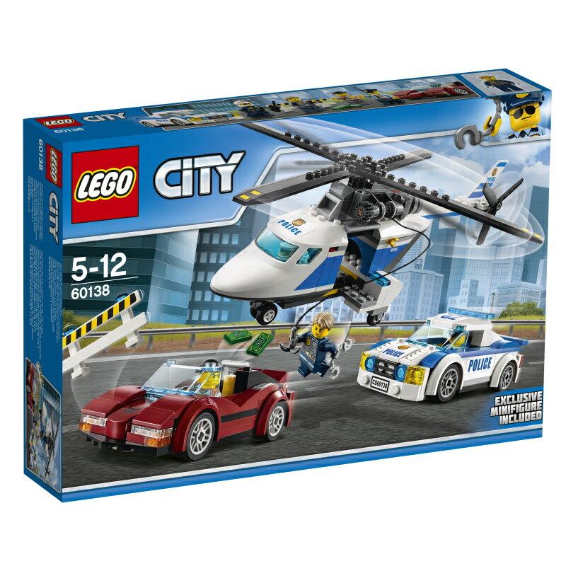 レゴ(LEGO)シティ ポリスヘリコプターとポリスカー 60138