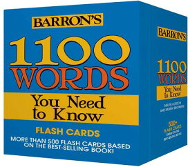 1100 Words You Need to Know Flashcards 1100 WORDS YOU NEED TO KNOW FL [ Melvin Gordon ]